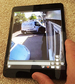 cctv on smartphone Cirencester